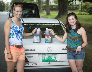 Dana Rubin '12 and Hannah Blackmer '12 Hit the Road, Seeking Sustainable-Living Ideas