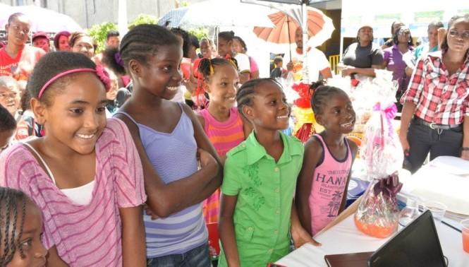 "dental clinic/health fair sponsored by ""Brush Up Jamaica"""