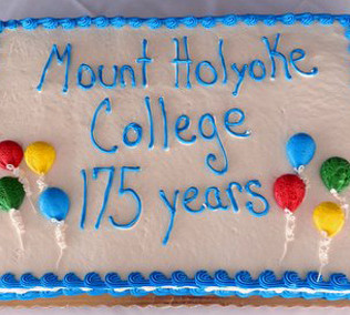 cake celebrating MHC's 175th anniversary