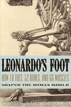 Book cover--Leonardos Foot