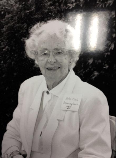 Helen Clark Severinghaus PhD '27
