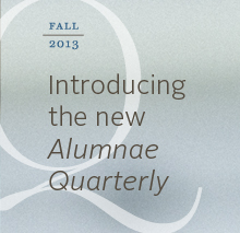 New Alumnae Quarterly