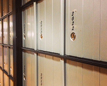 Student Mailboxes