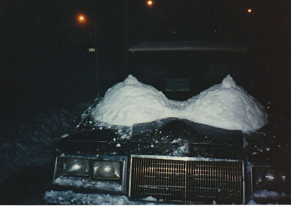 Snow sculpture, 1980s