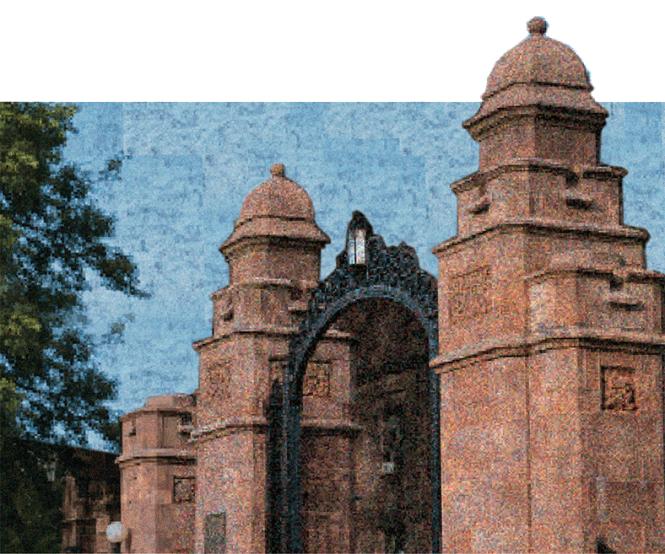 Mount Holyoke Gates