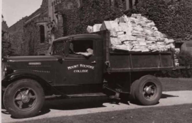 Waste Paper Truck