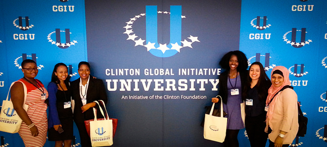 Mount Holyoke Students Clinton Global Initiative