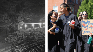 Then and Now - Convocation