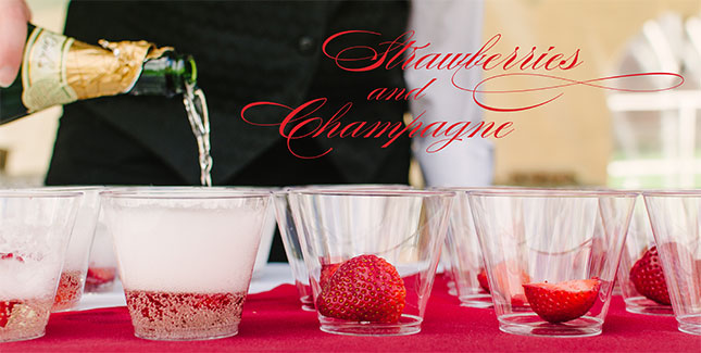 Strawberries and Champagne banner