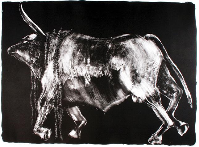 "Lynn Newcomb's ""Sacrificial Bull"""