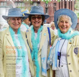 Alumnae Quarterly cover Summer 2016