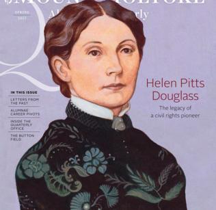 Spring 2017 Alumnae Quarterly cover