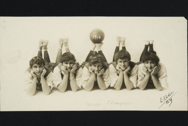 Mount Holyoke basketball team, circa 1916