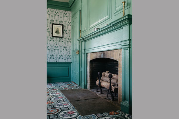 Fireplace in Sycamores
