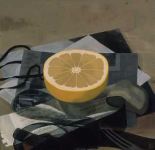 Grapefruit with Black Ribbon by Susan Jane Walp '70