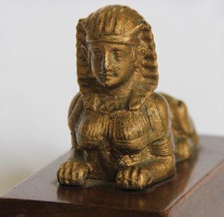 Sphinx sculpture