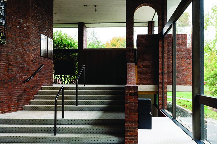 Rooke lobby stairs