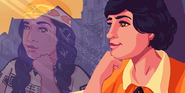 Ruth Muskrat Bronson illustration
