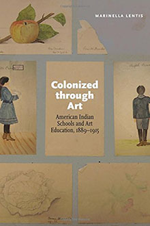 Colonized Through Art book cover