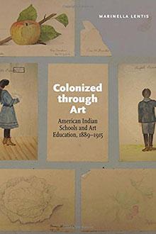 Colonized Through Art book cover