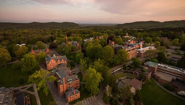 Mount Holyoke campus