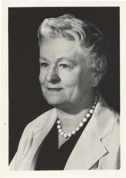 Portrait of Rachel Fuller Brown, class of 1920
