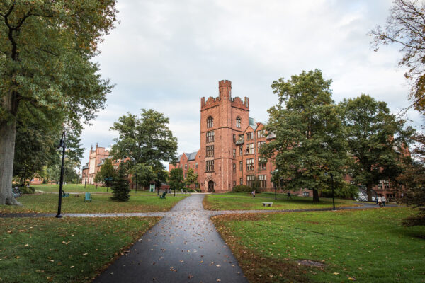 mount holyoke college // fall campus beauty